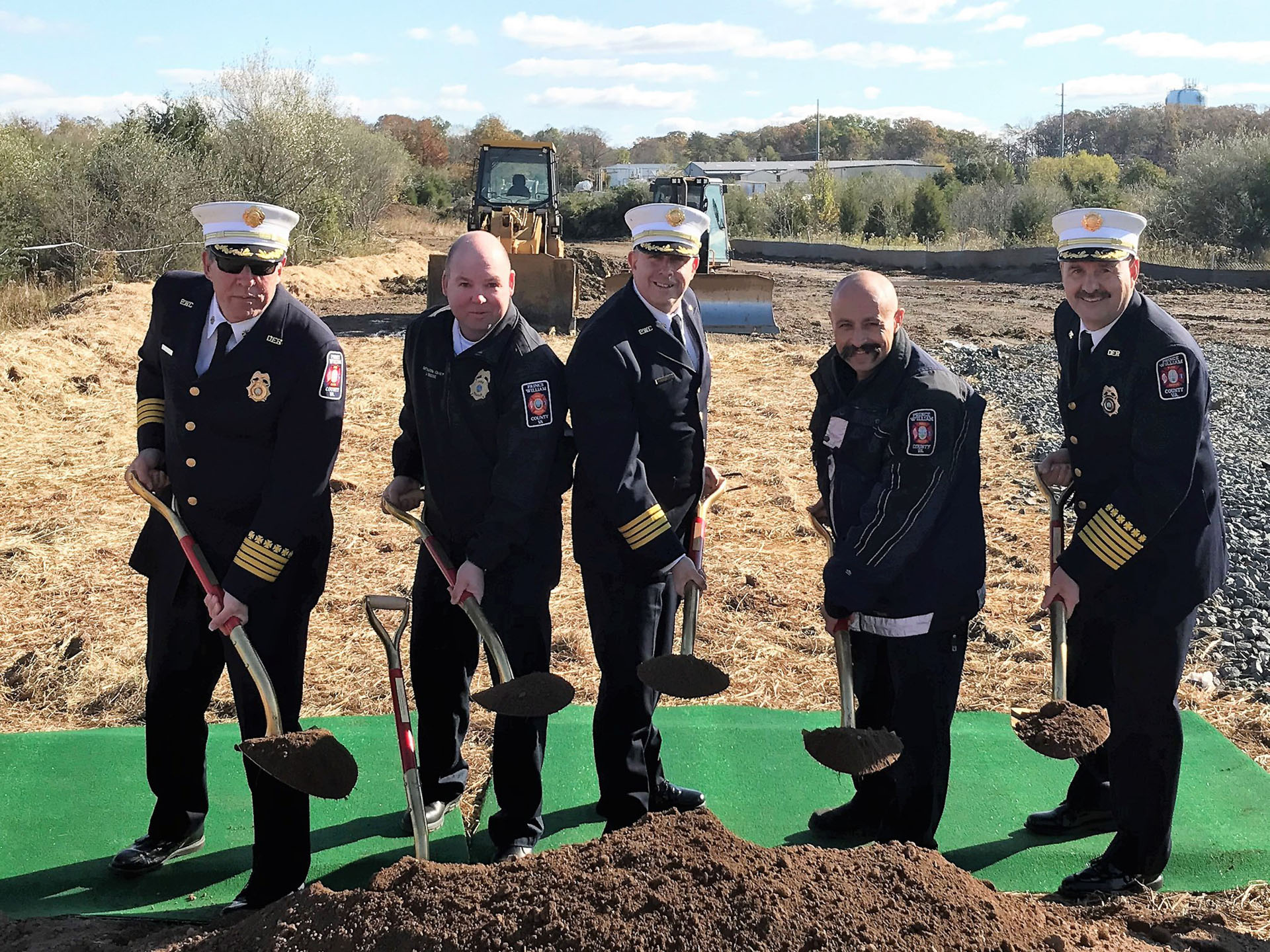 Work begins on new fire station
