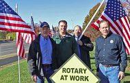 Lake Ridge Rotary Club honoring heroes
