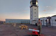 Scouts update Manassas Regional Airport observation spot