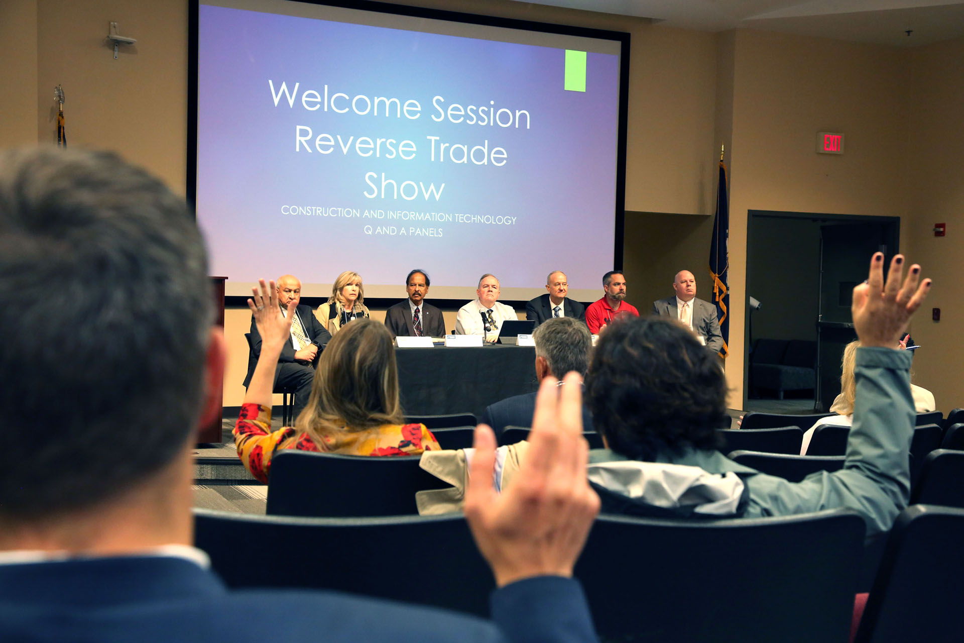 Reverse trade show provides insight on procurement