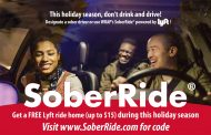 Sober rides being offered until Jan. 1