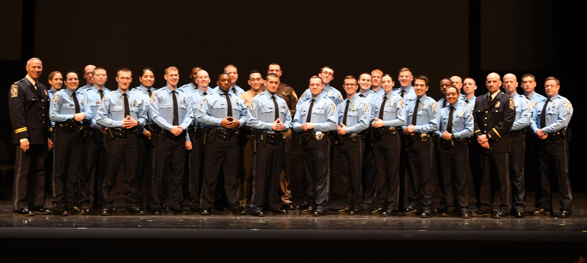 Eighteen graduate from recruit school