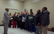 Civic association representatives sworn into office