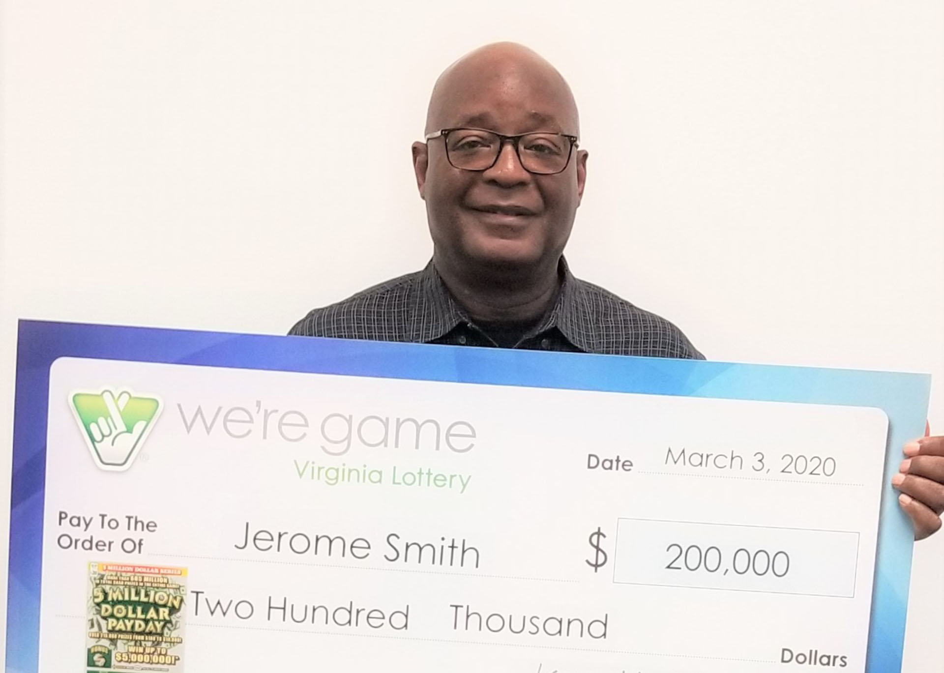 Winning Virginia Lottery ticket bought in Woodbridge