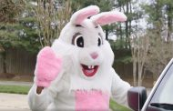 Easter Bunny visiting group homes in Prince William County