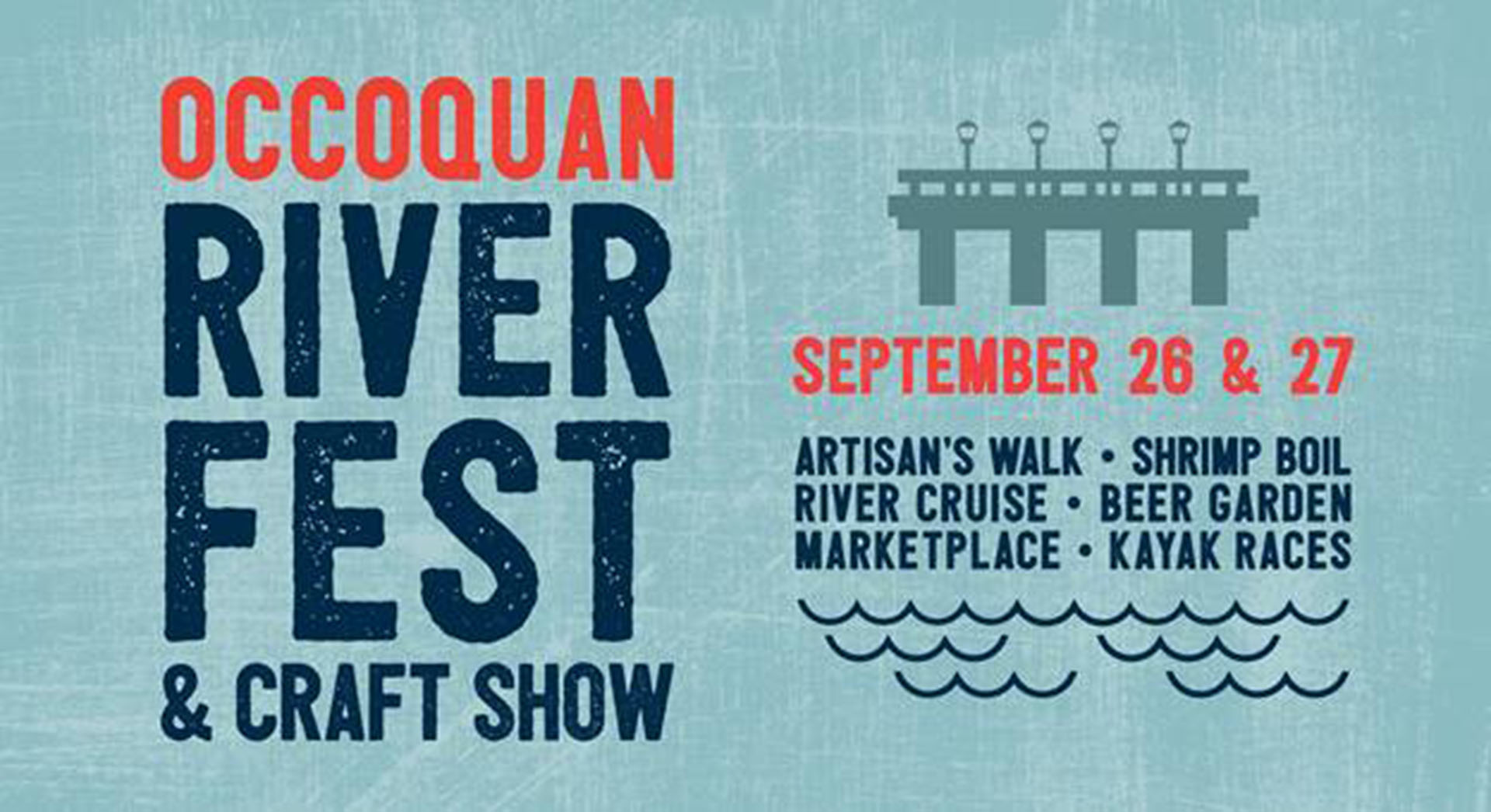 Occoquan RiverFest & Craft Show set for Sept. 26 — 27