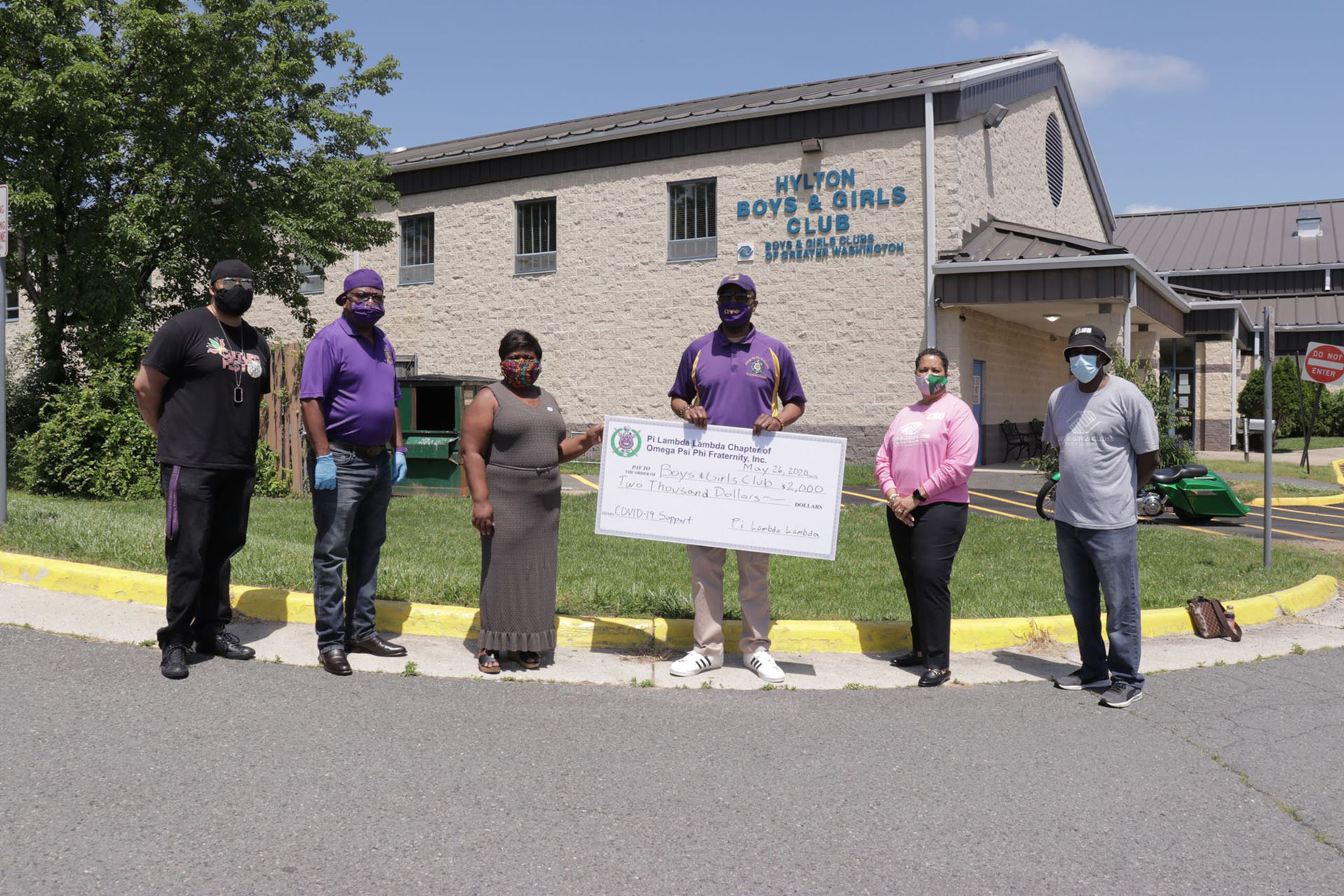 Boys and Girls Club receives support from fraternity