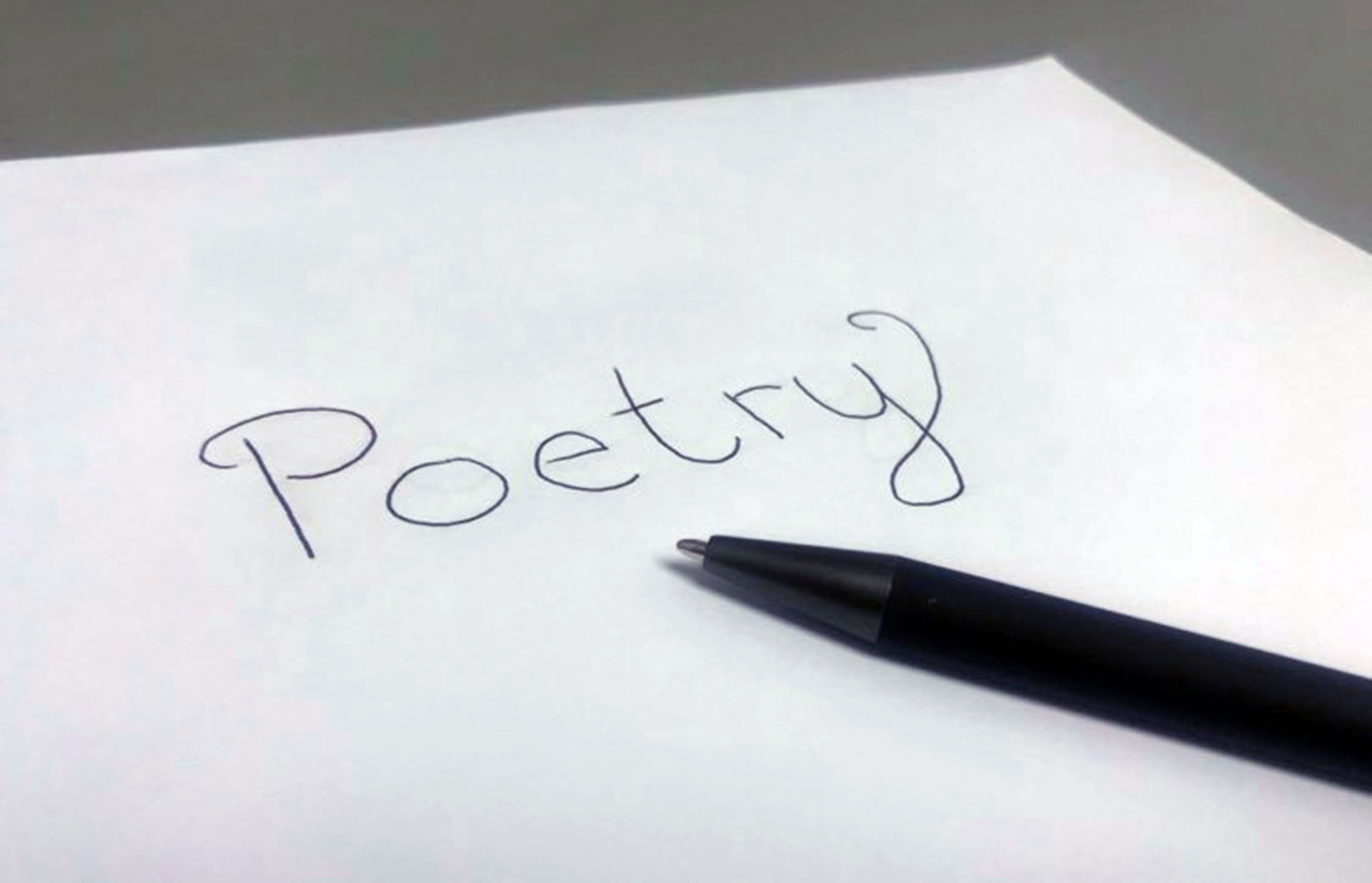 Poet Laureate nominations being accepted