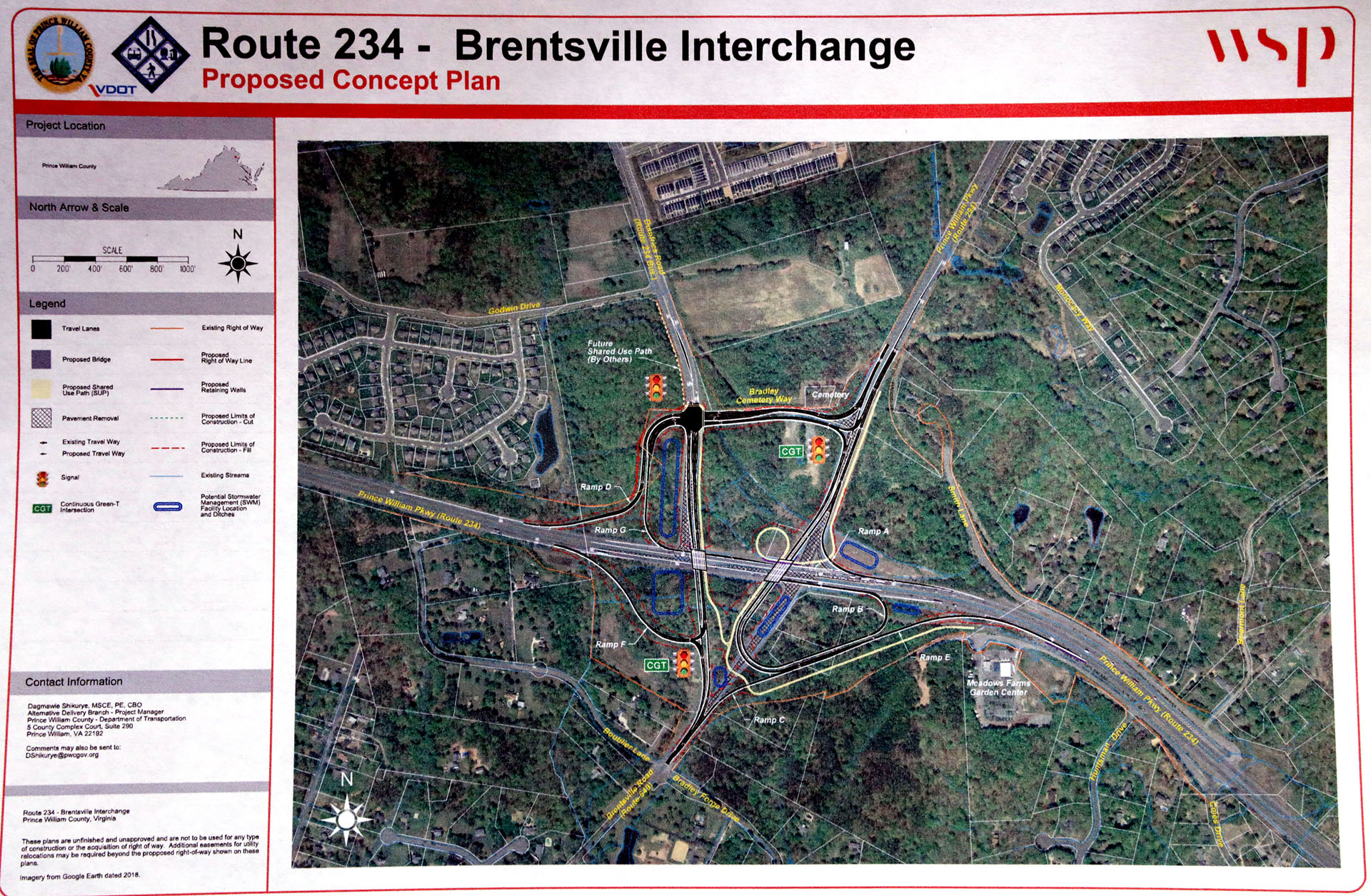 Interchange project being covered in virtual meeting