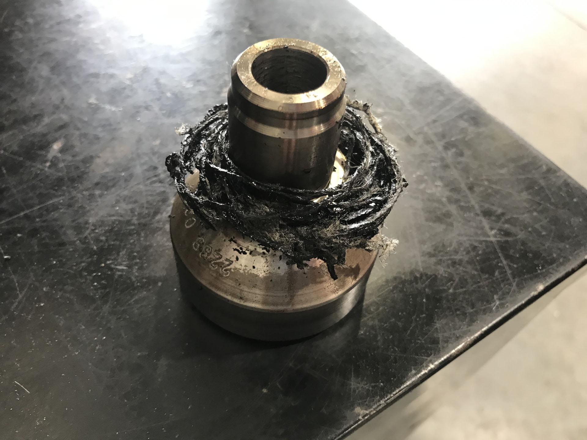 Serpentine belt caught in engine stops BMW from running