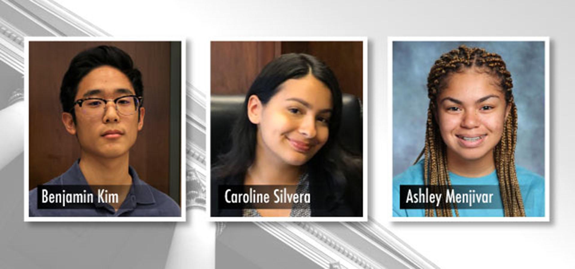 Student representatives for School Board chosen
