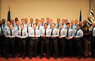 Local law enforcement graduate from recruit school
