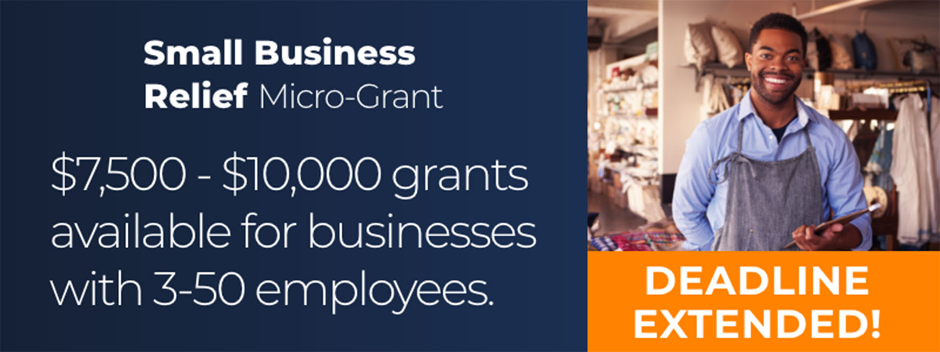 Grant for small businesses available