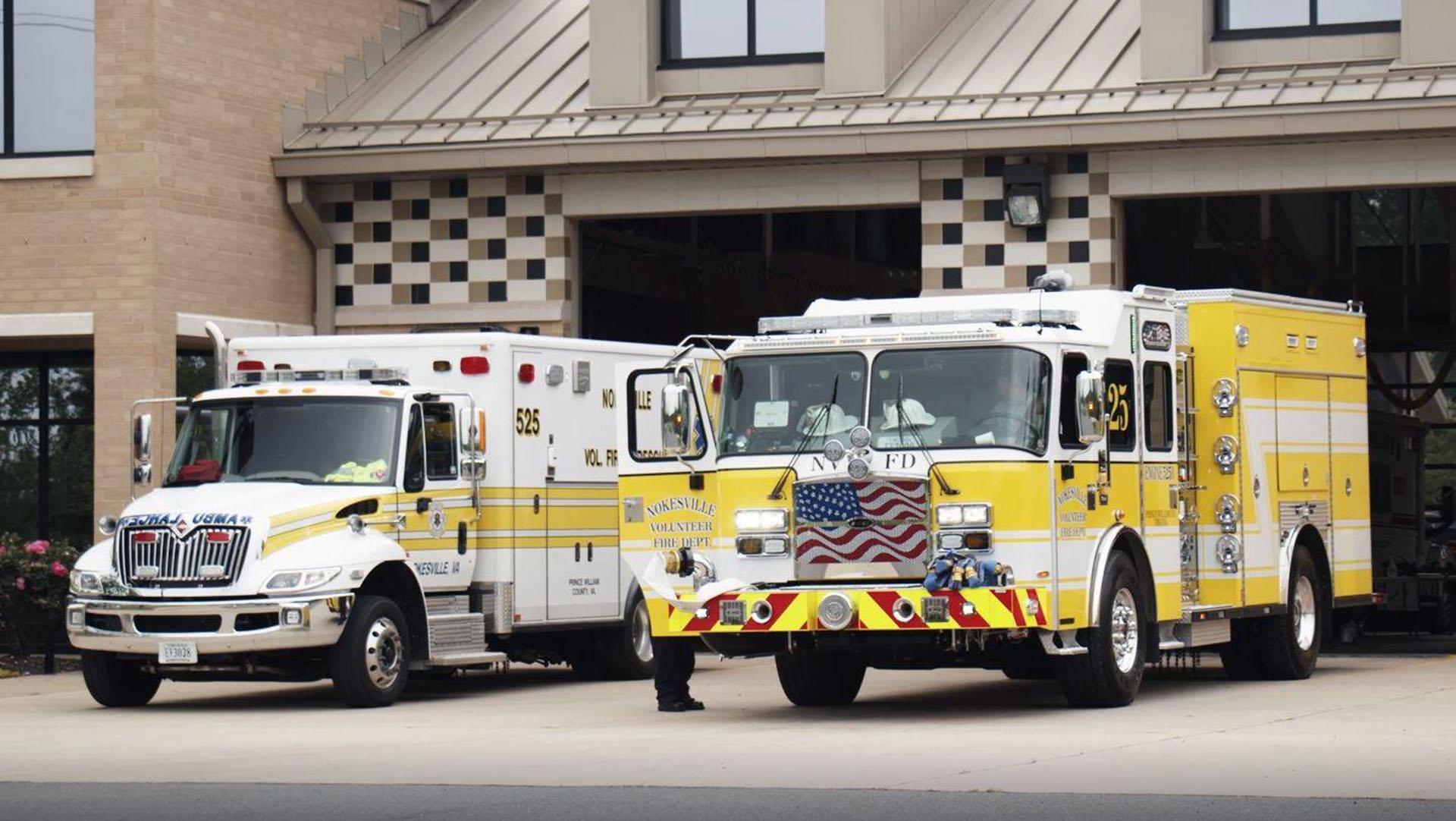 'Neighbors helping out neighbors': Volunteer fire departments aid in emergencies