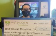 Triangle resident wins $777,777 from lottery