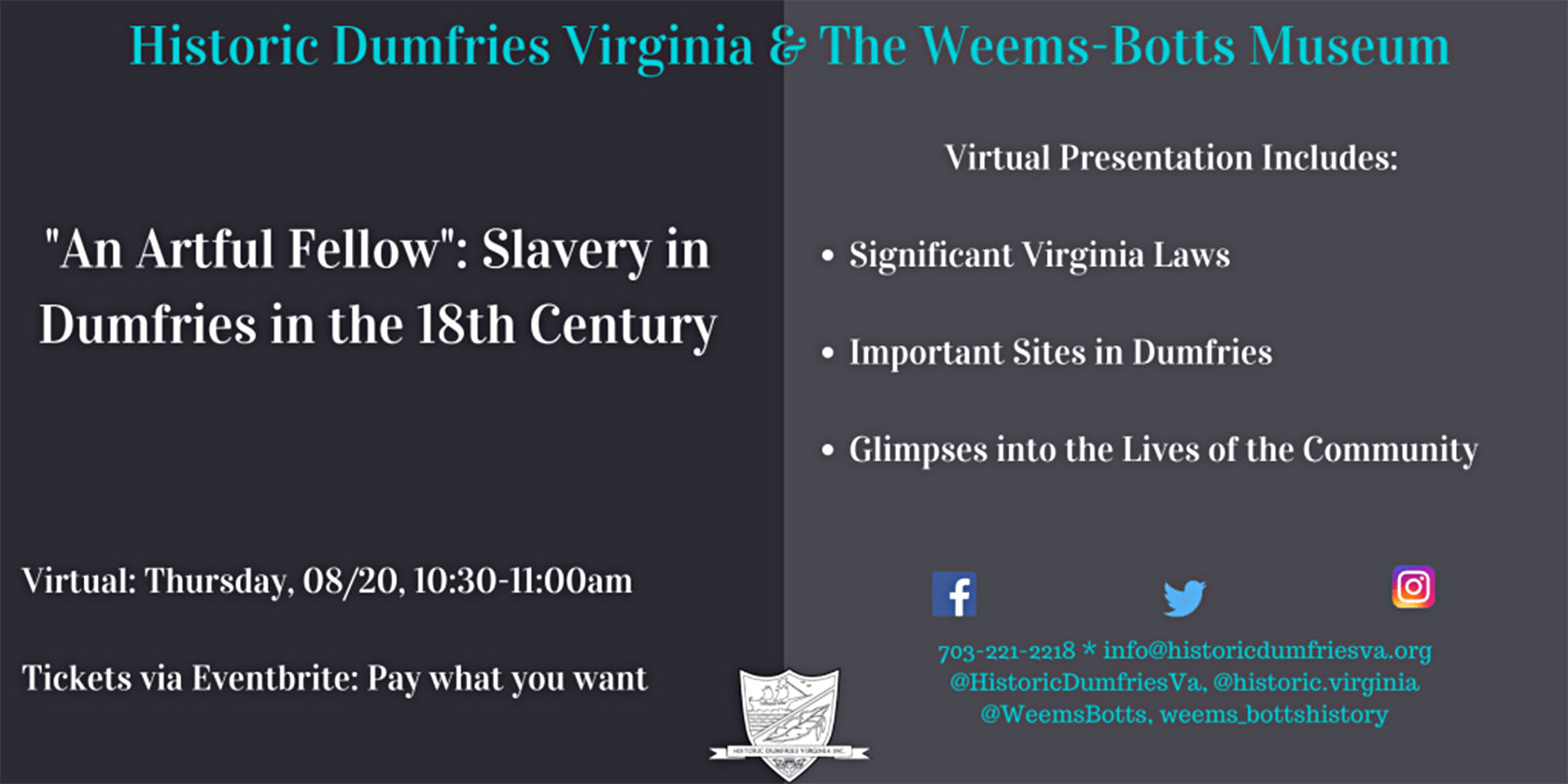 Slavery in 18th century to be focus of online presentation