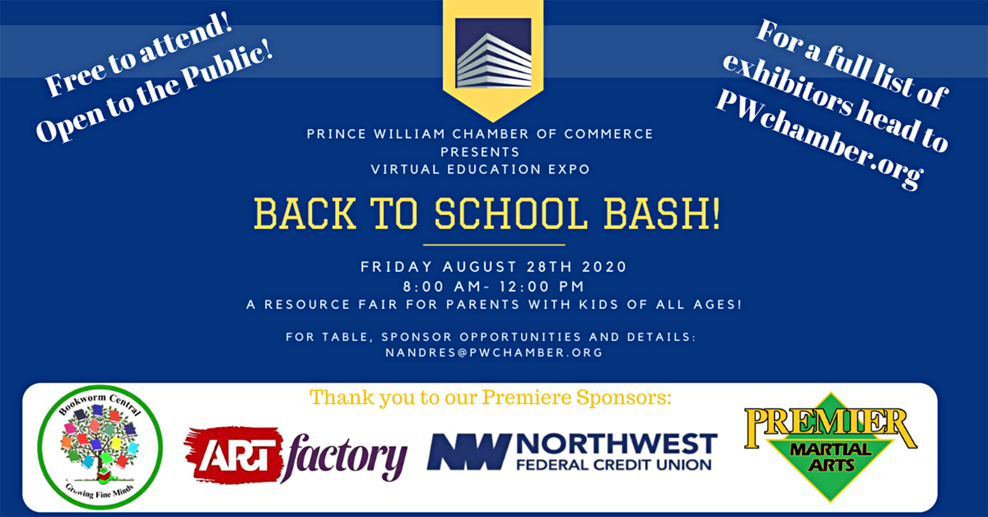 Prince William Chamber of Commerce — adapting in the new normal with a parent resource fair