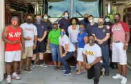 First Responders receive lunch from pan hellenic council