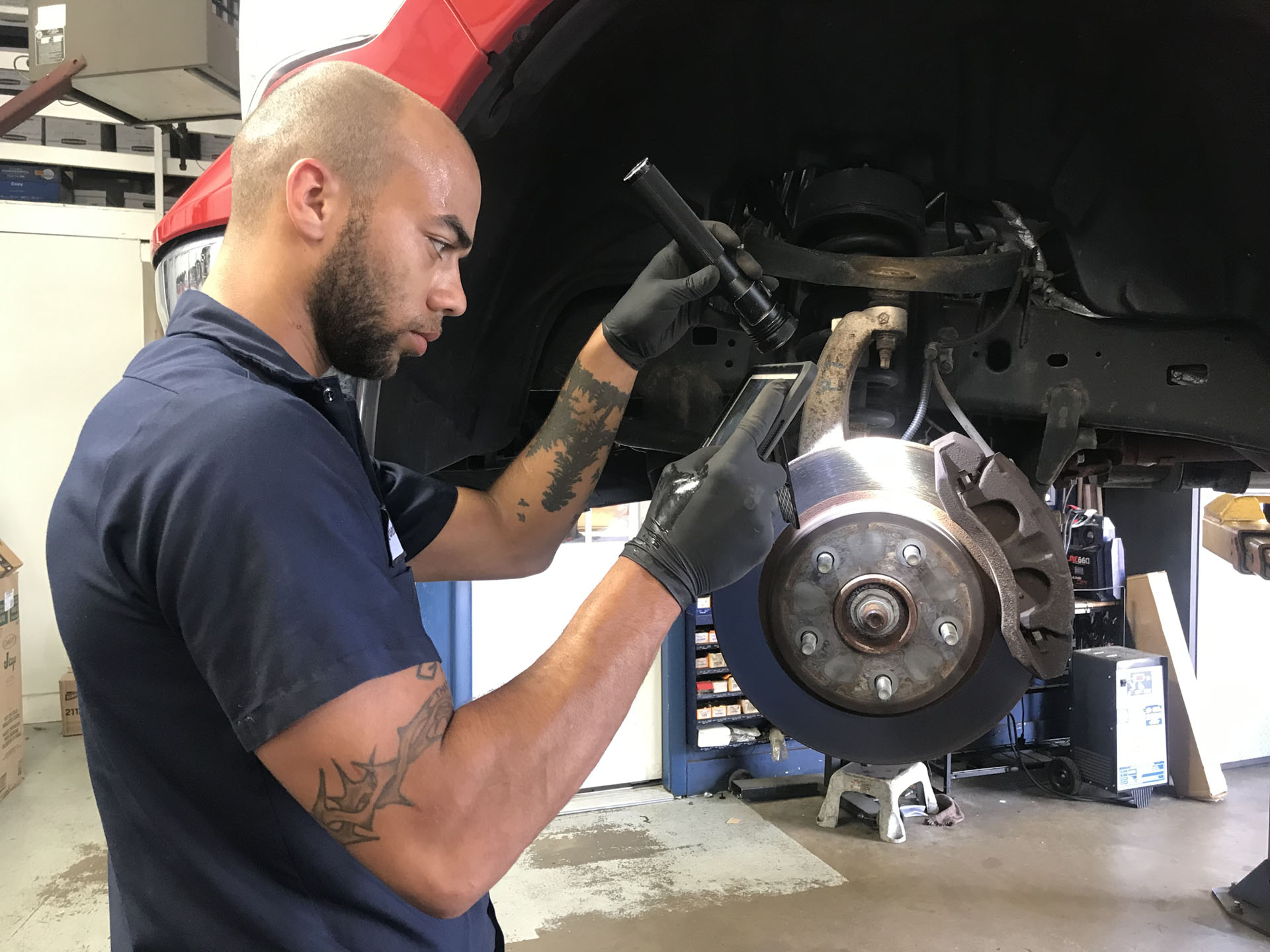 Digital inspections share details about needed car repairs