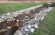 Stream restoration project addressing pollution, flooding