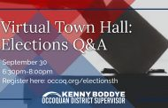 Elections Q&A Town Hall scheduled for Sept. 30