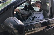 Drive-thru flu shot event occurring in Woodbridge