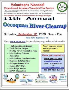 Occoquan River Cleanups