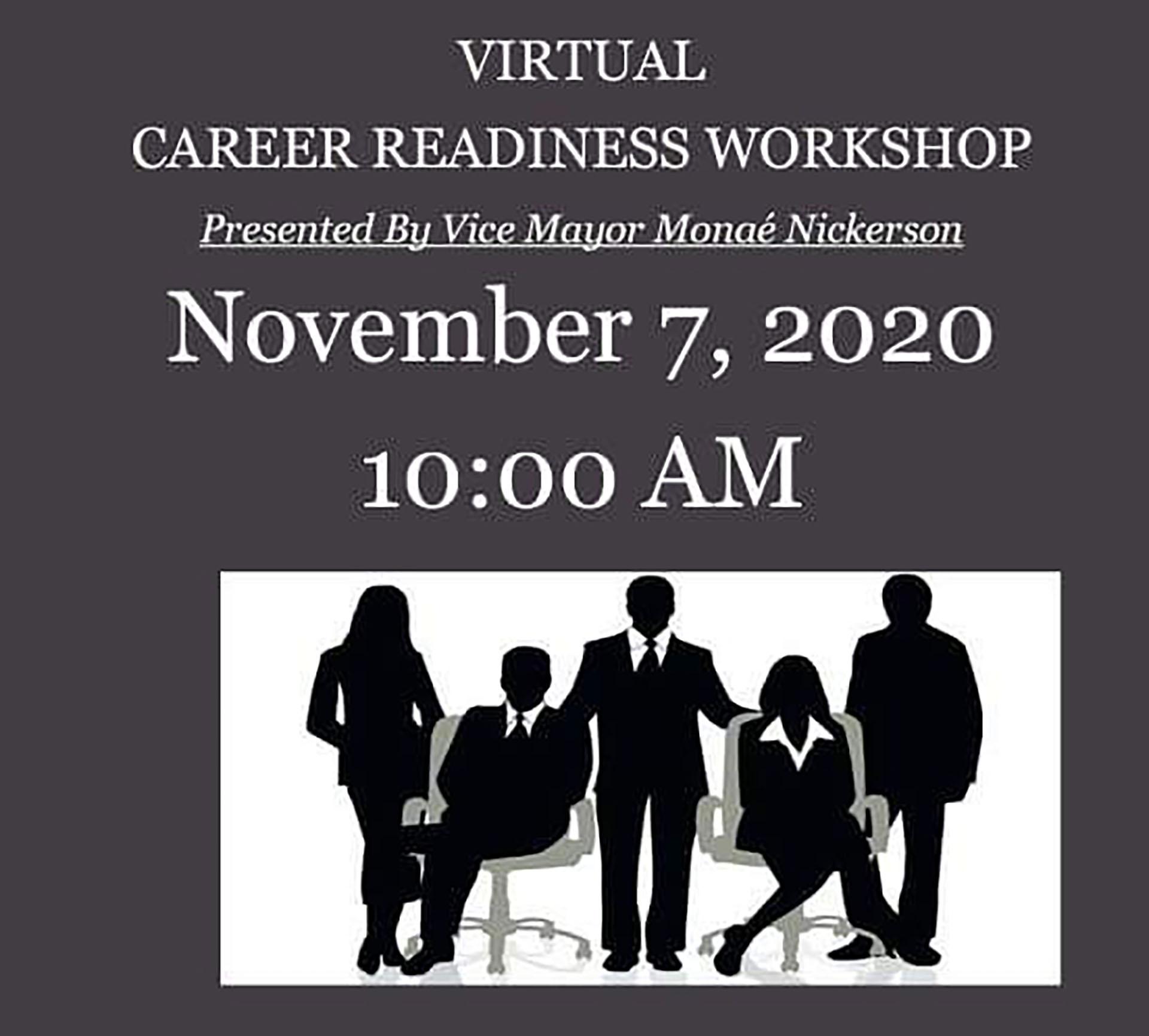 Free Career Readiness Workshop set for Nov. 7