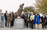Statue of former educator Jennie Dean unveiled
