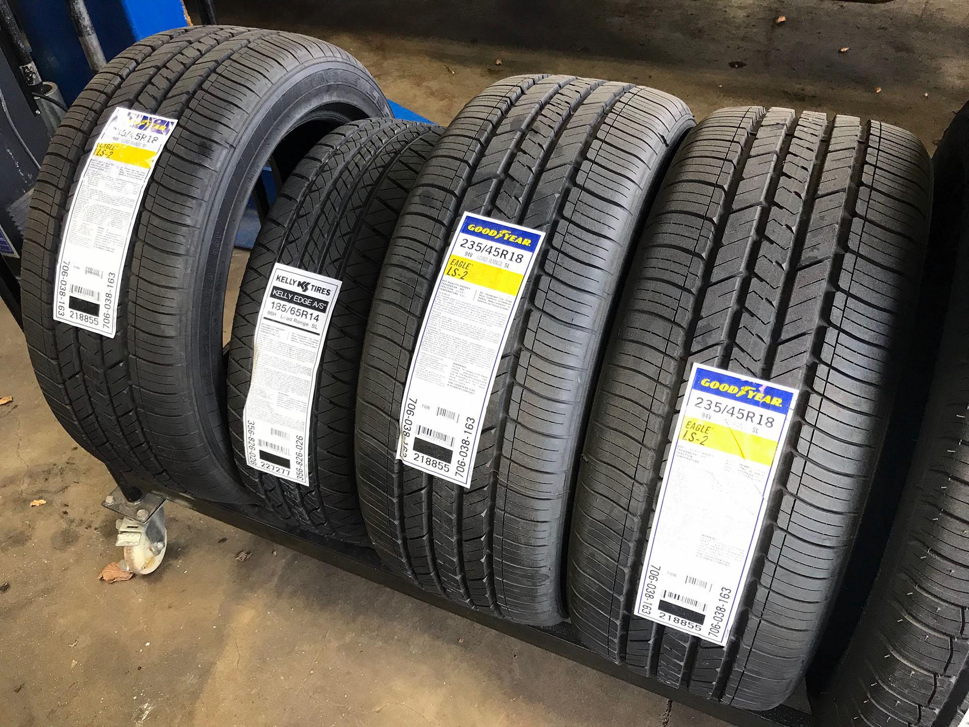 Getting tires at independent repair shops vs. big box stores