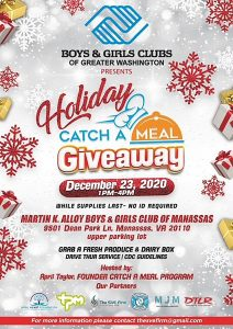Meal giveaway