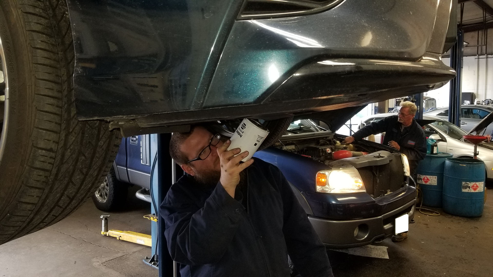 Why should I get an oil change at Steve's Auto Repair?
