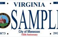 License plate created to celebrate Manassas' anniversary