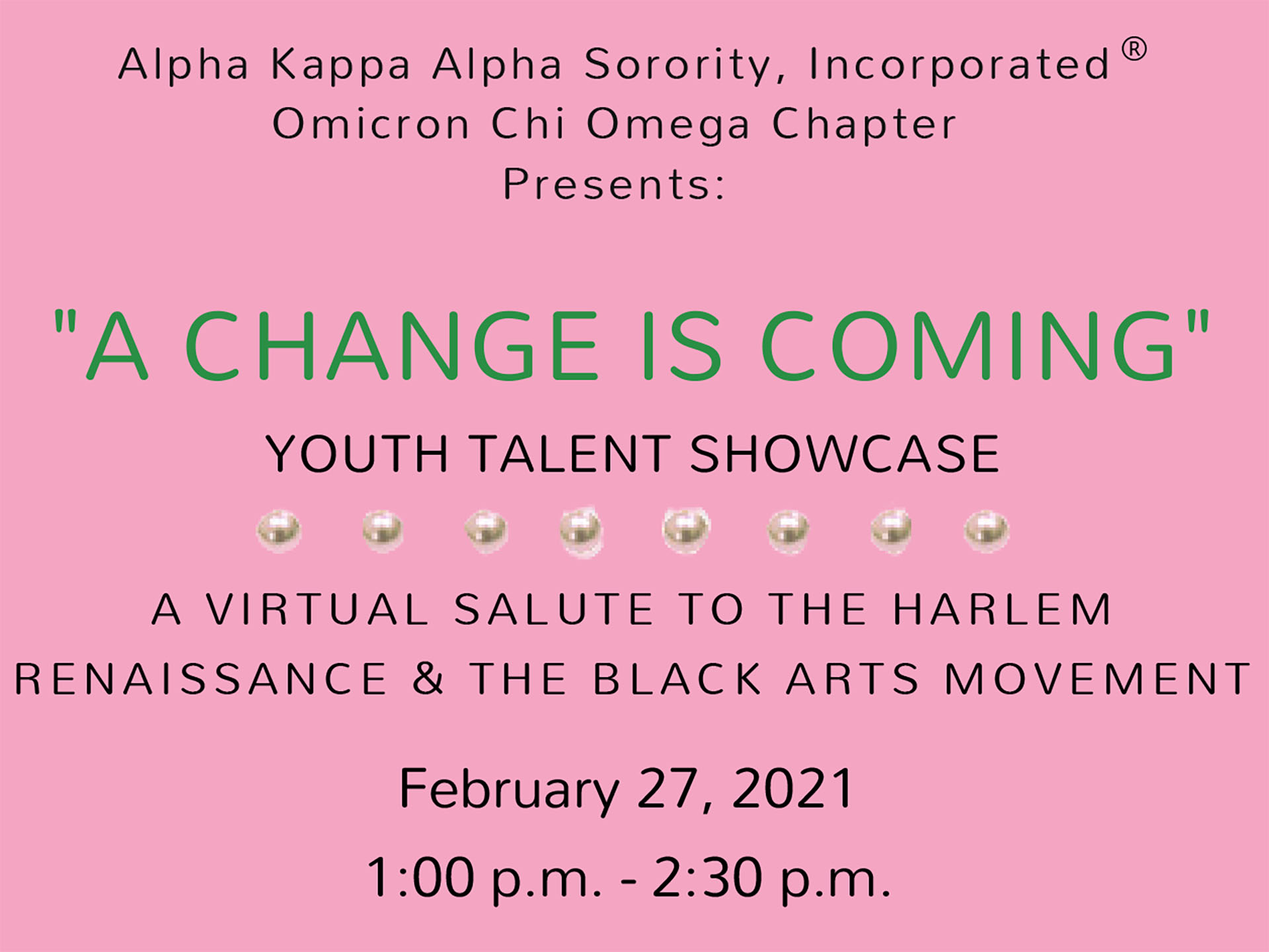 Youth Talent Showcase to be hosted by Woodbridge sorority