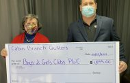 Cabin Branch Quilters donates to Boys & Girls Clubs