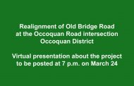Old Bridge Road project to be covered in presentation