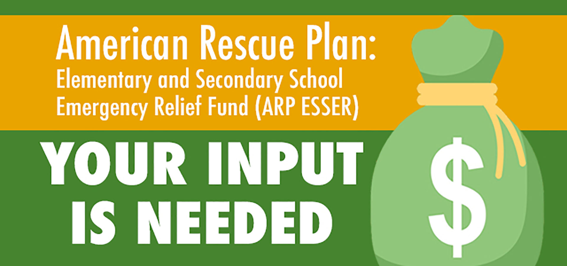 Feedback for American Rescue Plan funding sought