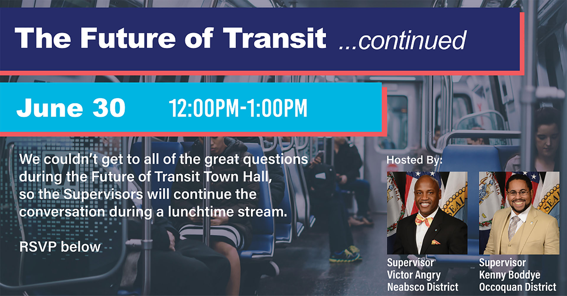 Future of Transit discussion to resume in virtual event