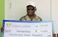 Woodbridge resident wins $115K from lottery