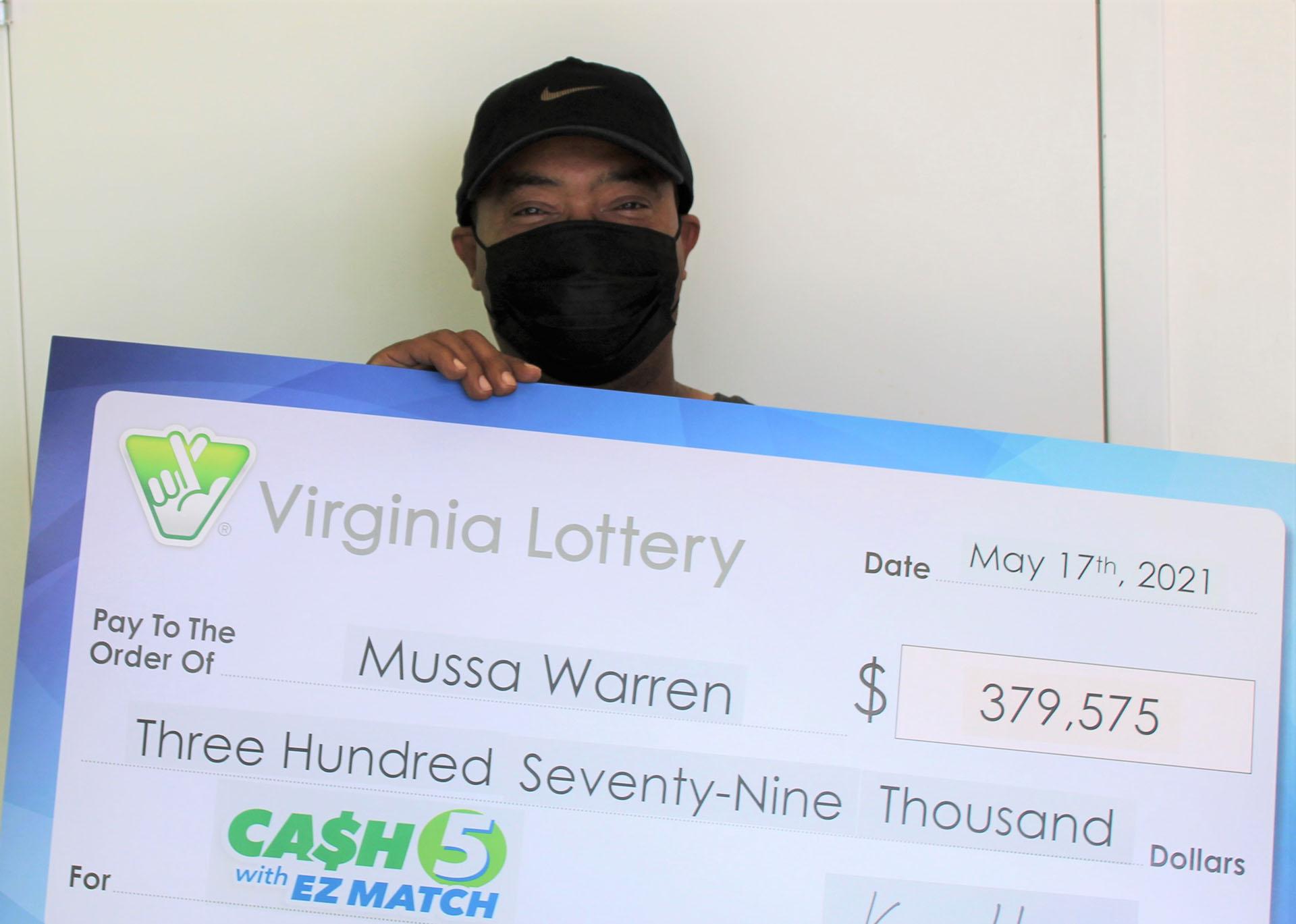 Virginia Lottery won by Woodbridge resident