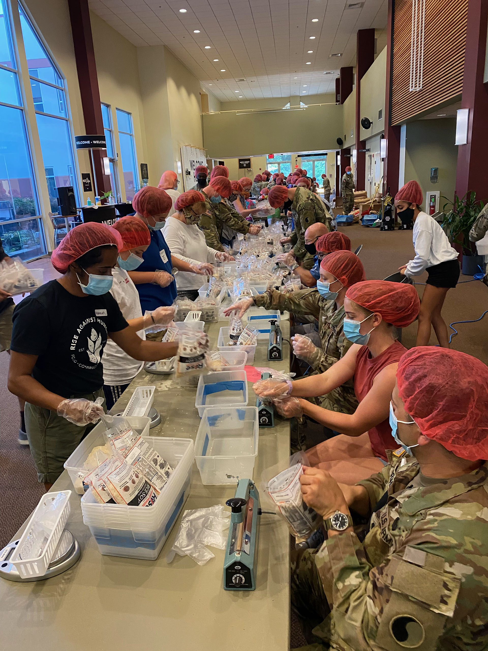 More than 10,000 meals packed in Eagle Scout Project
