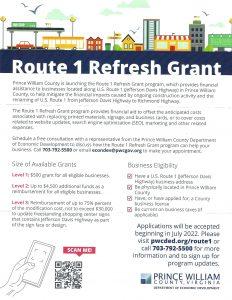 Route 1 Refresh Grant